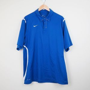 Nike Dri-Fit Athletic Polo Shirt Golf Active Top